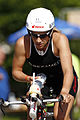 Anja Beranek on bike at Ironman 70.3 Austria 2012.jpg