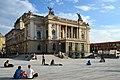 Ansicht vom neu gestalteten 'Sechseläutenplatz' auf das Opernhaus in Zürich 2013-08-31 18-32-35.JPG