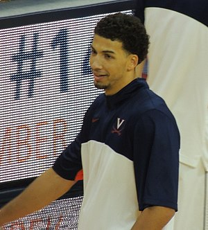 2014–15 Virginia Cavaliers men's basketball team - Image: Anthony Gill