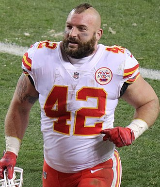 Anthony Sherman - Sherman with the Chiefs in 2017.