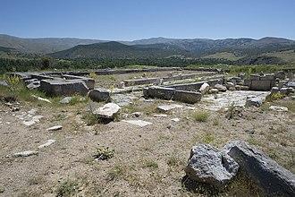 Antioch of Pisidia - Antioch of Pisidia Nymphaeum