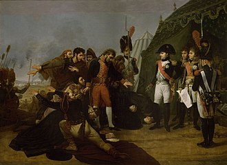 Battle of Somosierra - Surrender of Madrid, by Antoine-Jean Gros, 1810, oil on canvas. Madrid fell in the aftermath of Somosierra.
