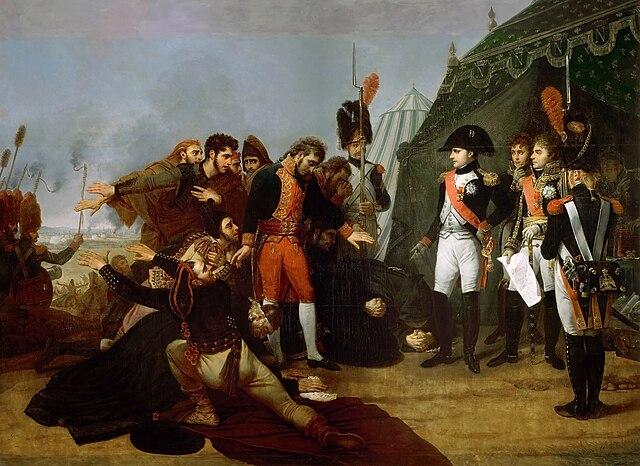Капитуляция Мадрида 4 декабря 1808 года. Гро (1810)
