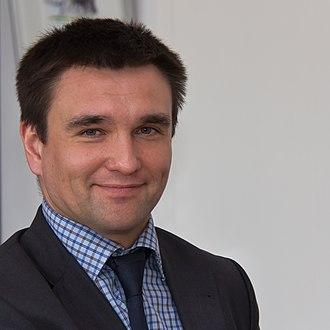 Minister of Foreign Affairs (Ukraine) - Image: Antrittsbesuch ukrainischer Botschafter Pavlo Klimkin im Rathaus von Köln 7273