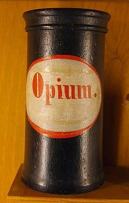 Apothecary vessel Opium 18-19 century