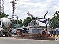 Aramghar Cross roads traffic junction in Hyderabad.jpg