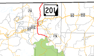 Arkansas Highway 201 - Image: Arkansas 201