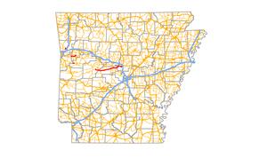 Arkansas Highway 60 - Image: Arkansas 60