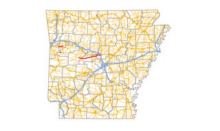 Arkansas Highway 60 highway in Arkansas