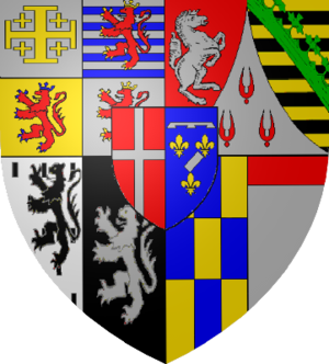 Coats of Arms of the Dukes of Savoy after Henr...