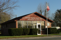The Armstrong post office