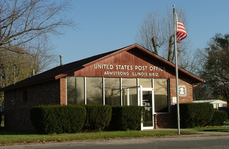 Armstrong, Illinois - The Armstrong post office