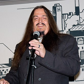 Aron Ra - Aron Ra speaking at De Vrije Gedachte in Utrecht, Netherlands in 2015