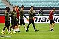 Arsenal players training before 2019 UEFA Europa League final 06.jpg
