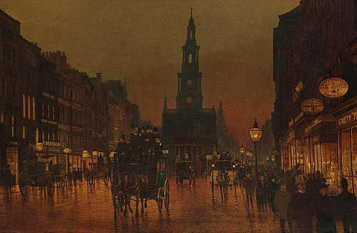Arthur E. Grimshaw, The Strand, London, 1899