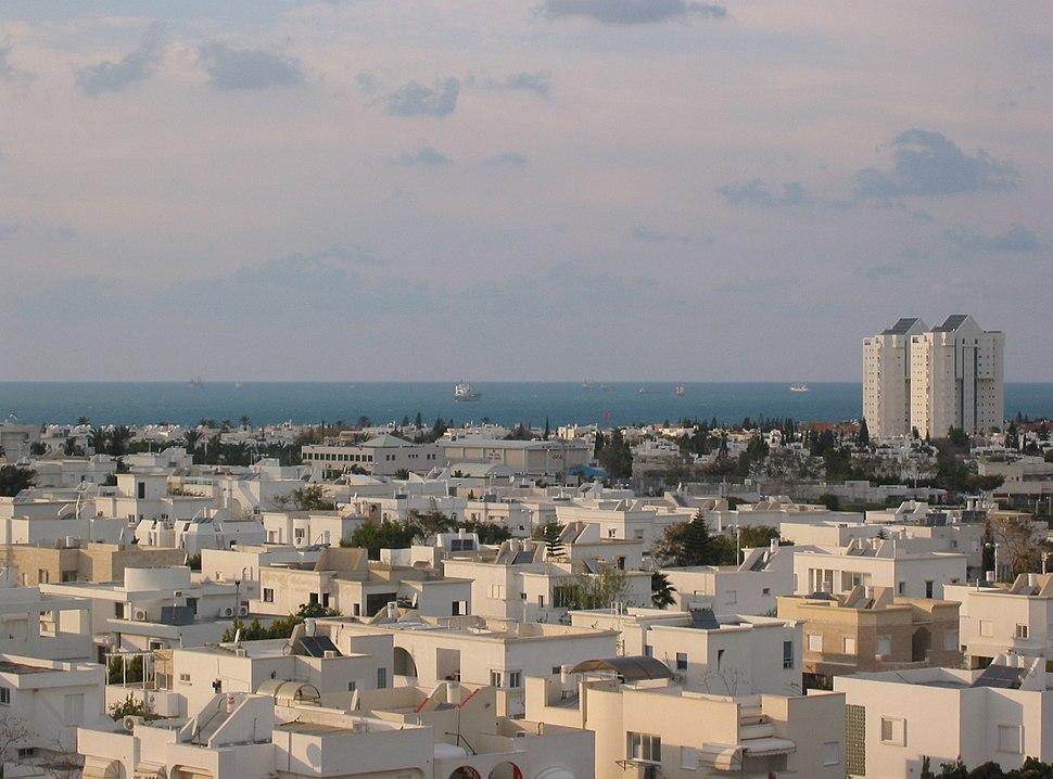 Ashdod 2005, rooftop view p2