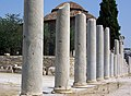 Athens - roman forum columns and Fethiye mosque.jpg