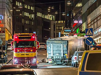 Vehicle-ramming attack - 2017 Stockholm truck ramming attack, killed 5.