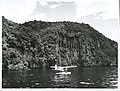 Auckland Province - Taupo, Lake Publicity Caption Patrick Burstall trolling for trout from the float of the Cessna 185 Floatplane, Lake Taupo Photographer D Nicholson.jpg
