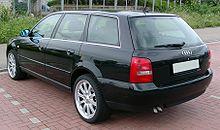 Audi A4 B5 Avant rear 20080517.jpg