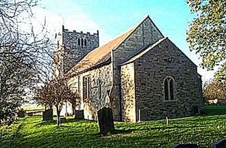 Aughton, East Riding of Yorkshire - Image: Aughton, All Saints Church