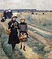 Augustins - La promenade du jeudi dans les champs, 1888 Armand Point Inv. 50 3 1.jpg
