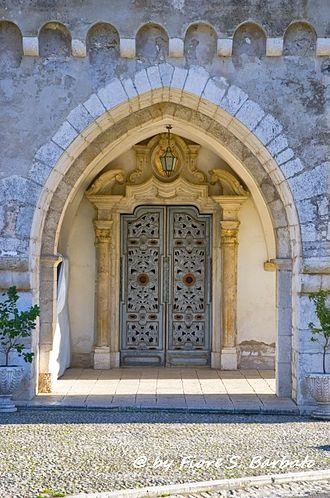 Ausonia, Lazio - Portal of the Santuario di Santa Maria del Piano.