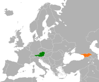 Diplomatic relations between the Republic of Austria and Georgia