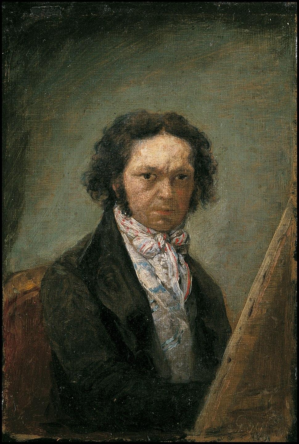 Autorretrato de Goya (1795)