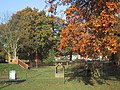 Autumn colours by the children's playground - geograph.org.uk - 1042452.jpg