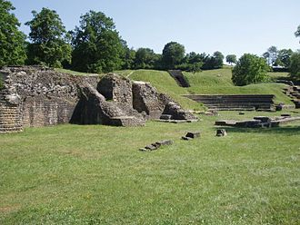 Avenches - Roman theatre in Avenches.