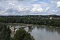 Avignon, Jardin du Rocher des Doms, Rhone et Pont Saint-Bénézet (40903690760).jpg