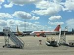 Avion EasyJet à St-Ex Lyon - juillet 2015.jpg