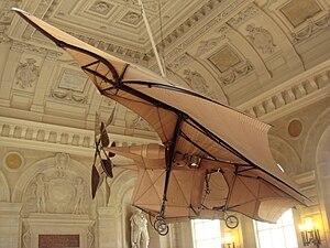 Musée des Arts et Métiers - Clément Ader's Avion III at the Musée des Arts et Métiers.