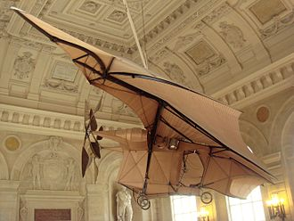 Clément Ader - Clément Ader's Avion III is still displayed at the Musée des Arts et Métiers in Paris.