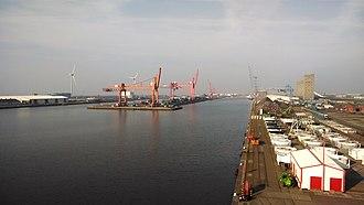 Avonmouth Docks - Royal Edward Dock, March 2014