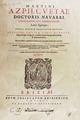 Azpilcueta - Consiliorum siue responsorum libri, 1598 - 018.tif