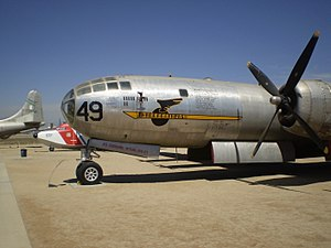 March Field Air Museum - Image: B29 March AFB 01
