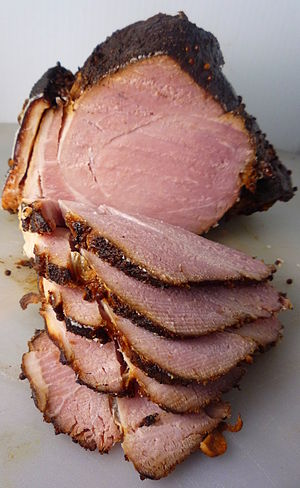 Gammon (meat) - Sliced gammon