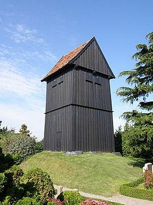 Birket Church - Wooden bell tower (c. 1350)