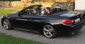 BMW 4 Series (F32) - 428i with roof retracted