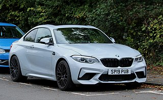BMW M2 High performance version of the BMW 2 Series