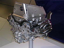 Photo du moteur de la BMW Sauber F1.06