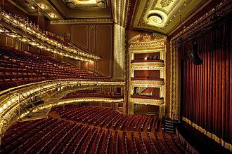 CIBC Theatre - CIBC Theatre auditorium
