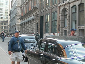 The Curious Case of Benjamin Button (film) - Parisian scenes shooting in Old Montreal