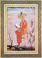 Babur (r.1526-30) Reading,.jpg