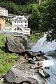 Bad Gastein - Wasserfall mit Kraftwerk.JPG