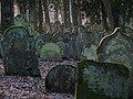 Bad Rappenau - Heinsheim - Jüdischer Friedhof - Grabsteine im Gegenlicht.JPG