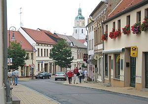 Bad Schmiedeberg - Image: Bad Schmiedeberg Innenstadt