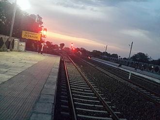 Badnagar - Image: Badnagar station